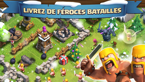 Clash of Clans iOS 20 Jeux Gratuits iPhone, iPod Touch, iPad (excellents)