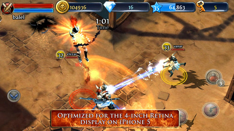 Dungeon Hunter 3 iOS 20 Jeux Gratuits iPhone, iPod Touch, iPad (excellents)