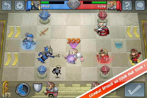 Hero Academy iOS 20 Jeux Gratuits iPhone, iPod Touch, iPad (excellents)