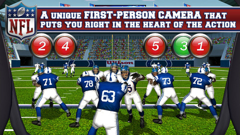NFL Pro 2013 iOS 20 Jeux Gratuits iPhone, iPod Touch, iPad (excellents)