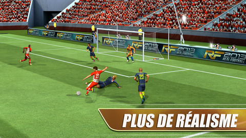 Real Football 2013 iOS 20 Jeux Gratuits iPhone, iPod Touch, iPad (excellents)