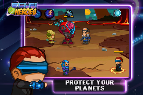 Sci Fi Heroes iOS 20 Jeux Gratuits iPhone, iPod Touch, iPad (excellents)