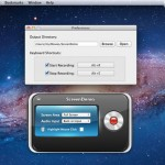 ScreenDemo Mac OSX : Capture d