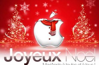 Joyeux Noel Bonnes Fete MaxiApple