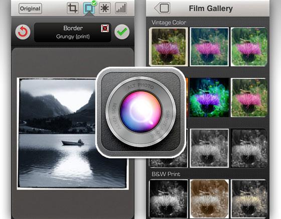 Alien Skin Alt Photo iPhone : La Retouche Photo Concue par des Pros (gratuit)