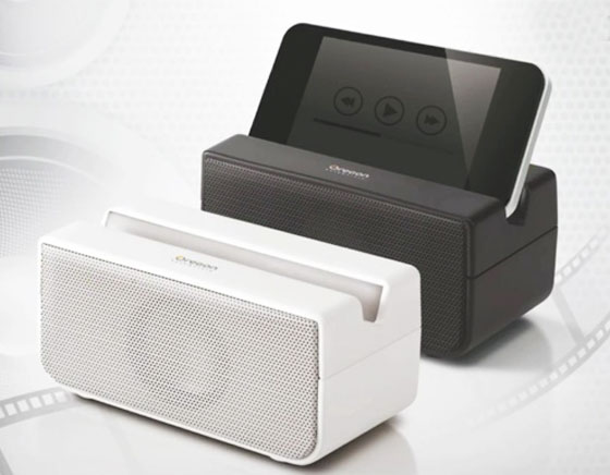 Boombero iPhone - Enceinte sans Fil NearFA sans Bluetooth ou WiFi (video)