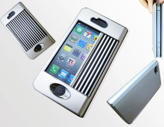 coque alu iphone 5