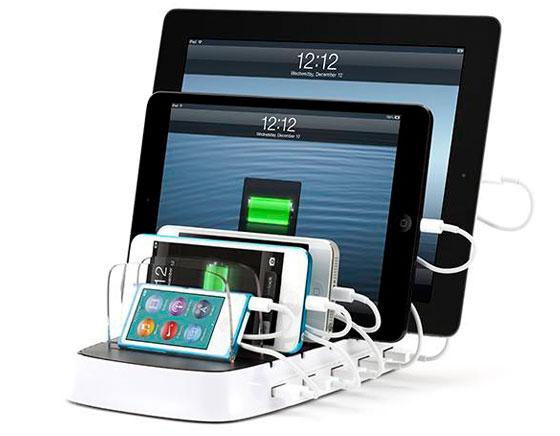 Station d'Accueil Griffin PowerDock : Recharger Simultanément 5 iPhone, iPod, iPad (images)