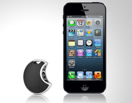Hipkey iPhone : Porte Clé Bluetooth avec Alarme de proximité et de mouvement (images)