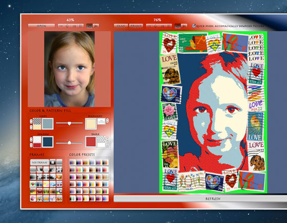 Photo to Poster EZ Pro Mac OS X : Vos Photos en Posters Graphiques (gratuit)