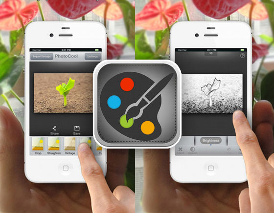 1 PhotoCool iPhone iPad PhotoCool iPhone iPad : Effets, Filtres et Partage sur Instagram, Facebook, Flickr... (gratuit)