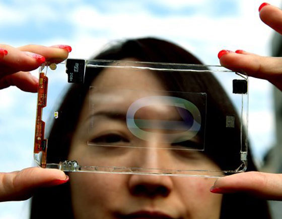 Polytron Technologies - 1er Smartphone Entièrement Transparent (images)