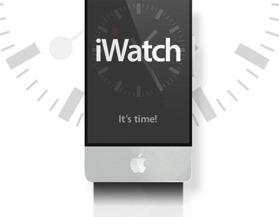 1 apple iwatch montre connectee gps wifi Concept iWatch : Une Montre Apple avec Ecran Tactile Incurvé de 2.5 (images)