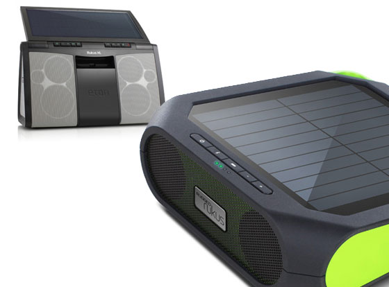 Eton Rugged Rukus XL : BoomBox et Enceintes Bluetooth Solaire iPhone (images)