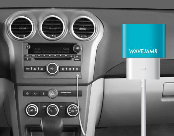 2 WaveJamr Dongle Bluetooth iPhone iPad WaveJamr iPhone iPad : Dongle Bluetooth pour vos Anciens Docks (vidéo)