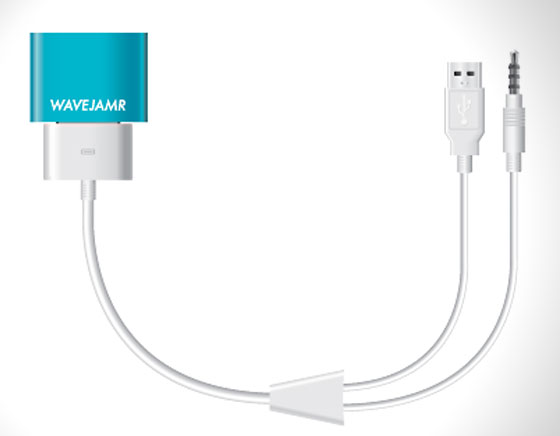 3 WaveJamr Dongle Bluetooth iPhone iPad WaveJamr iPhone iPad : Dongle Bluetooth pour vos Anciens Docks (vidéo)