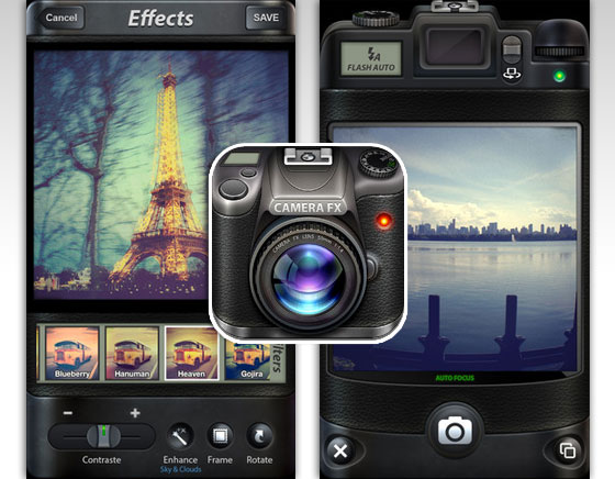 Camera FX Pro iPhone : Effets de Style pour Photos de Pros (gratuit)