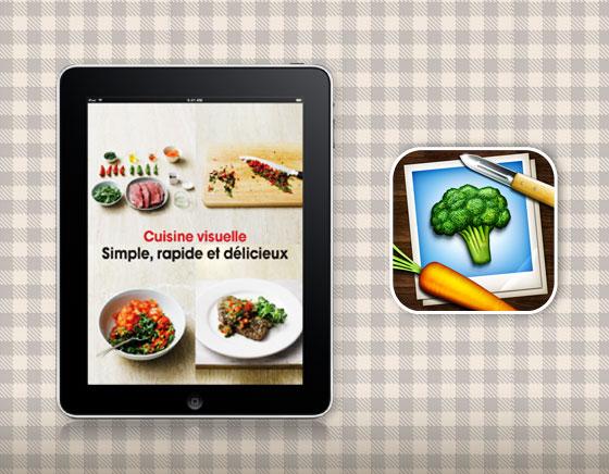Cuisine Visuelle iPhone iPad - Apprendre à Cuisiner en 240 Recettes et en Images (gratuit)
