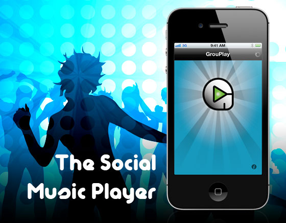 GrouPlay iPhone iPad GrouPlay iPhone iPad : Lecteur de Musiques Social et Collaboratif (gratuit)