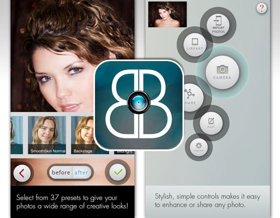 Beauty Box Photo iPhone iPad : Retouche Esthétique et Maquillage Virtuel (gratuit)