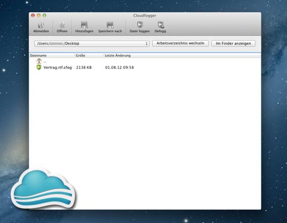 Cloudfogger Mac OSX iPhone iPad : Cryptez vos Données sur Dropbox, Google Drive, Skydrive… (gratuit)