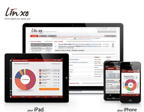 Linxo iPhone iPad : Meilleurs Gestionnaire de Comptes et Finances (gratuit)