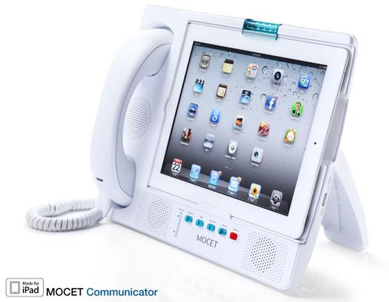 MOCET Communicator iPad : Station de Téléphonie HD Skype et FaceTime (images)