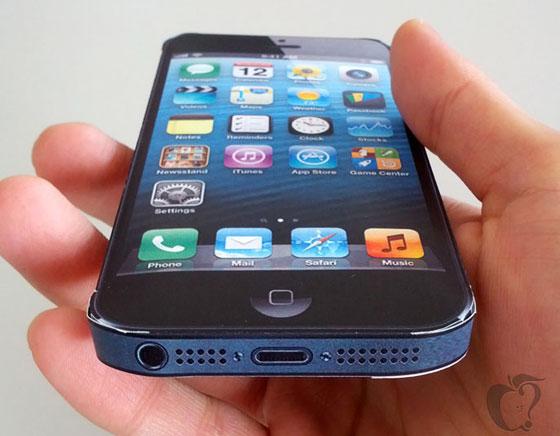 Maquette d'iPhone 6 avec Ecran 5 pouces - Essayer le Maintenant (gratuit)