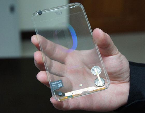 Polytron Technologies - Test du Smartphone Transparent en Images et en Vidéo