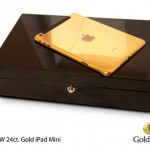 GoldGenie : Luxueux iPad Mini en Or Rose ou en Platine (images)