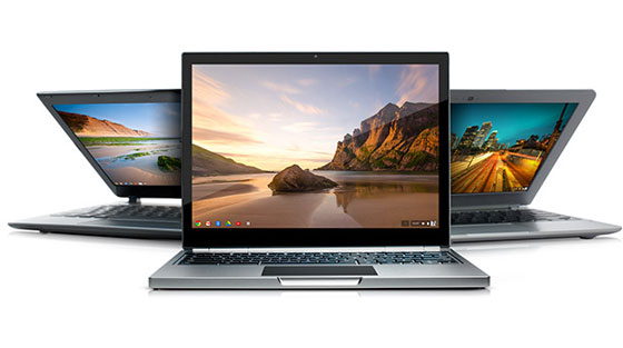 2 Google Chromebook Pixel Google Chromebook Pixel avec Ecran Tactile : Un MacBook Air Retina Killer (videos)
