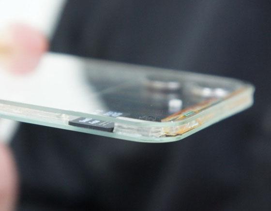 Polytron Technologies : Test du Smartphone Transparent en Images et en Vidéo