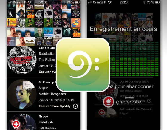 Orange Labs Stream That Song iPhone - Une Alternative à Shazam et SoundHound (gratuit)