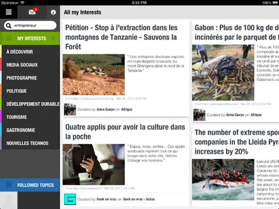 1 Read it iPad Aggregateur Scoop it Read.it iPad : lAgrégateur dActualités version Scoop.it (gratuit)