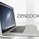 ZenDock MacBook Pro : Astucieux Dock pour Eliminer les Cables (vidéo)