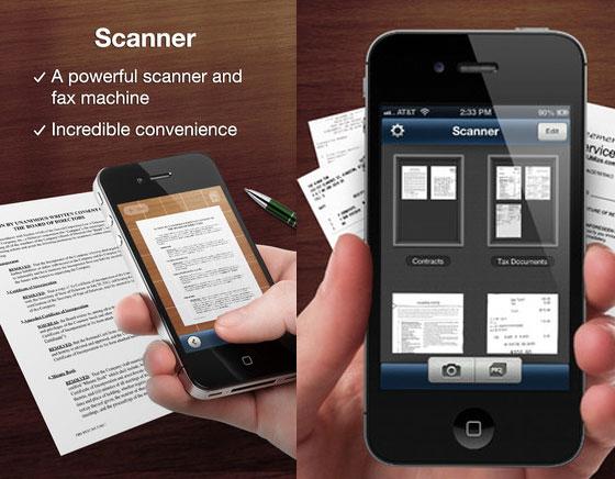 1 Avocado Scanner Deluxe iPhone iPad - Avocado Scanner Deluxe iPhone iPad : Scanner de Documents avec Fax