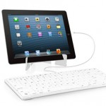 Macally iKeyLT : Clavier Filaire Lightning avec Support iPad (images)