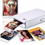 LG Pocket Photo PD233 iPhone iPad : Mini Imprimante Bluetooth et NFC (video)