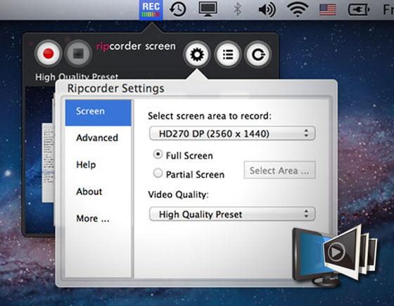 capture video ecran sur mac