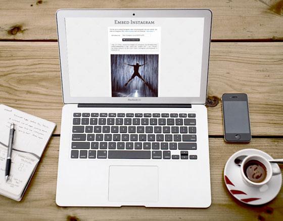 1 Webpp Embed Instagram Mac PC Web Webapp Embed Instagram : Intégrer Videos/Photos Instagram dans une Page Web (gratuit)