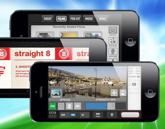 Straight-8-iPhone-Enregistrement-Montage-Partage-Videos-HD