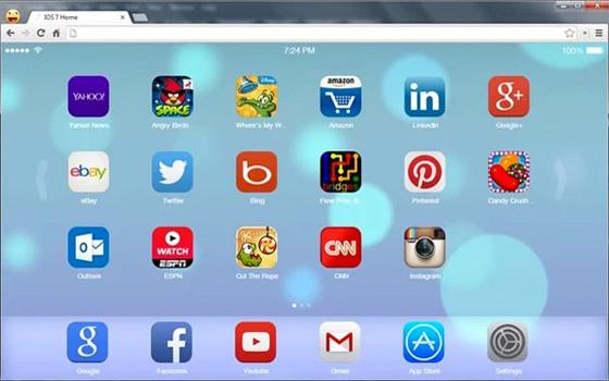 PC : Interface iOS 7 pour Navigateur Chrome (gratuit)  MaxiApple.com