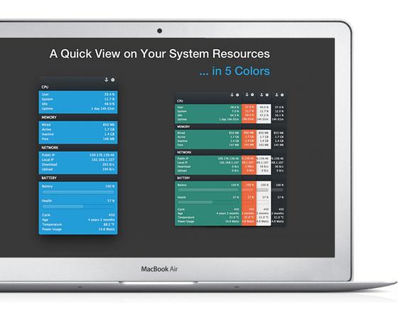 MenuBar Stats OSX Surveiller Activites Mac gratuit 1 - MenuBar Stats OSX : Surveiller les Activités de votre Mac