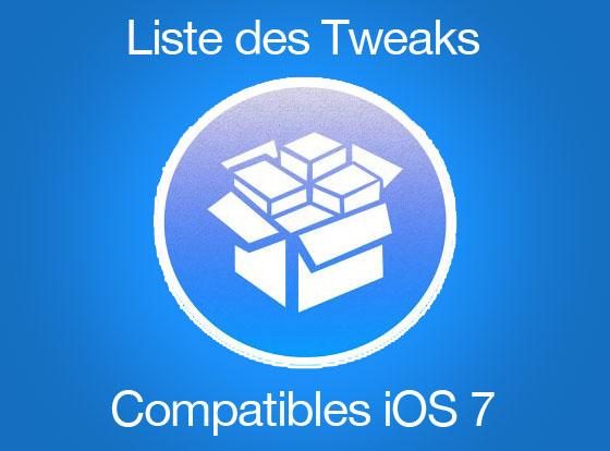 jailbreak liste tweaks io7 2013 2014 Jailbreak Evasi0n : Liste Complète des 100 Tweaks Compatibles iOS 7