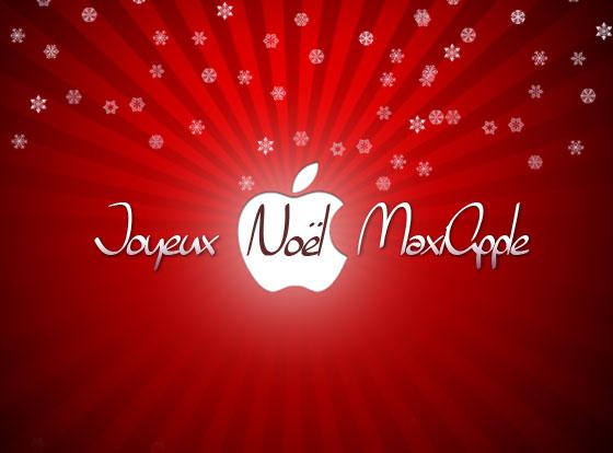 joyeux noel 2013 maxiapple Joyeux Noël et Bonnes Fêtes MaxiApple à Toutes et à Tous !