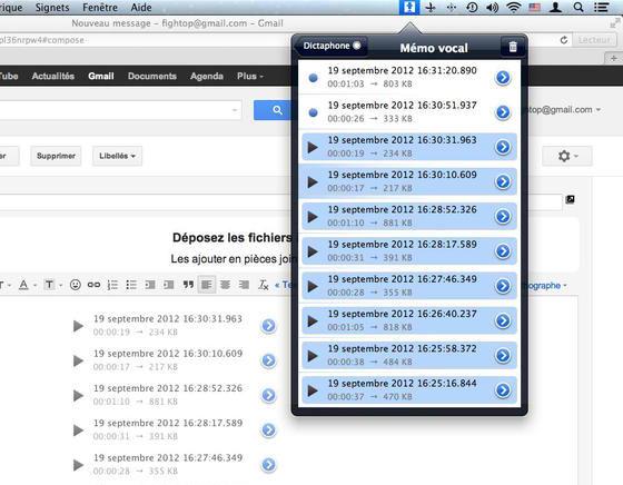 Dictaphone Pro Mac OSX 2 Dictaphone Pro Mac OSX : Dictaphone et Mémo Vocal