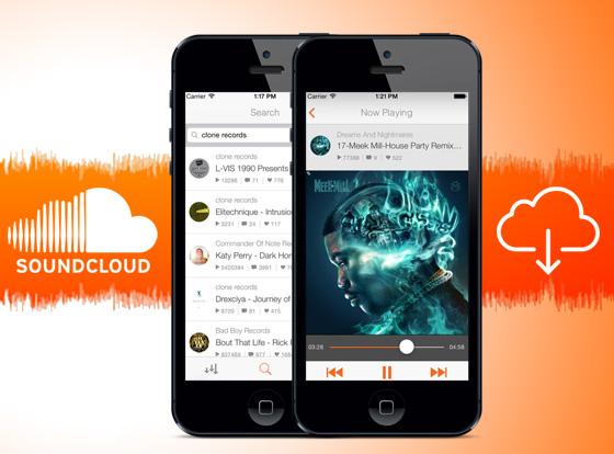 DownCloud Pro iPhone - DownCloud iPhone : Ecouter et Télécharger les Musiques SoundCloud (gratuit)