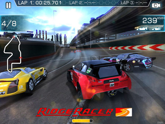 ridge racer slipstream iphone ipad 1