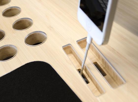 Bureau Slatepro Pour Macbook, Iphone Et Ipad : Fonctionnel Et