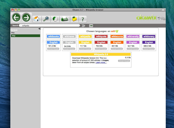 Okawix Mac OSX Wikipedia 3 Okawix Mac OSX : Telechargez tout Wikipedia sur votre Ordinateur (gratuit)